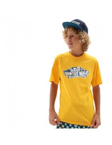 Vans Camiseta Jr. Amarilla Logo Fill Boy