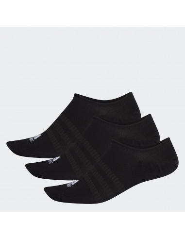 Adidas Light No Show Sock Pack X 3 Black