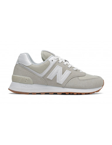 New Balance 574 Blanco/Beige