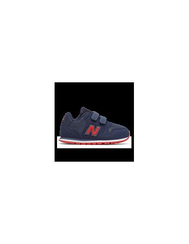 New Balance 500 Marino/Rojo