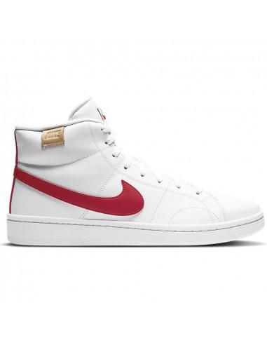 Nike Court Royale 2 Mid Blanca/Roja